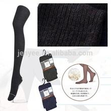 Custom high quality wholesale warm wool sexy school girl tights pantyhose