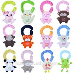 12 designs stocked ,animal fancy baby bibs , cheap cotton baby bib