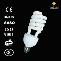 12mm 25W Half Spiral Energy Saver Bulb 10000H CE QUALITY