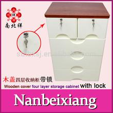 4 Drawers Plastic Storage Box