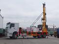 400m montadas sobre camión de perforación hidráulica de pozos de agua aparejo