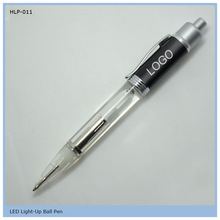attactive hot plastic ballpen with light