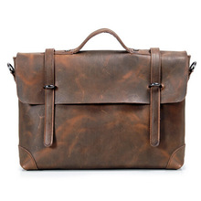 HOT new briefcase fashion briefcase high quality leather briefcase