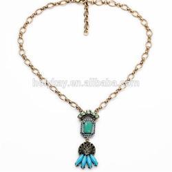 Wholesale fashion vintage pendant necklace china cheap bulk jewelry
