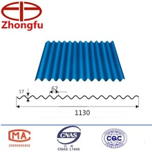 Commercial Plastic corrugated roofing for building material