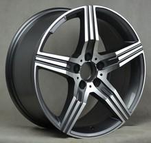 concave alloy wheel 5x112 spoke wheels for car wheel rim 17 inch 18 inch