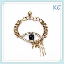 Yiwu Set auger eyes rivets lady bracelet