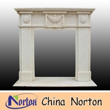 Italy style stone fireplaces mantel NTMF-F199