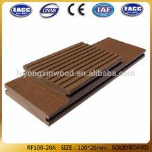 Hot sale enviromental wpc decking floor wood plastic composite