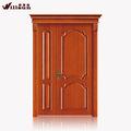 Bois sur mesure portes en bois porte d'entrée bois utilisé portes extérieures