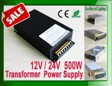 China manufacturer factory price transformer 110V 120V 220v to 24v 12v power supply 500w