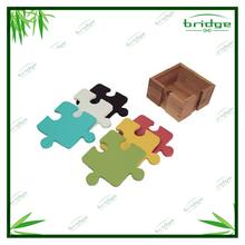 2014 Silicone and bamboo coaster