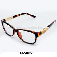 2014 popular designer eyeglass frame Fashion Full Rim Half Rim silica glasses frame