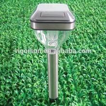Latest Outdoor Stainless Steel Solar Power Garden Light photovoltaic