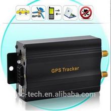 real time google map dual sim card car gps tracker tk 103A+