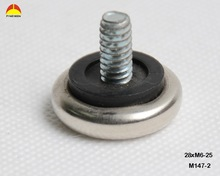 High quality threaded leveling glides metal material chair adjustable feet