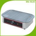 Restaurante euipment não- stick açoinoxidável grill elétrico/electric griddle bn-hl03