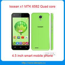 MTK 6582 Quad core smart phone Iocean x1 Android 4.4 1GB RAM 8GB ROM mobile phone prices in dubai