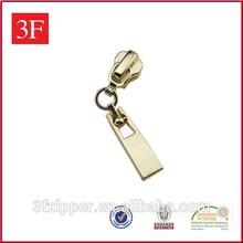 Rose Gold Metal Zipper Slider for Bags