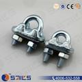 en acier au carbone g450 attaches de câble métallique clip heavy duty clamp