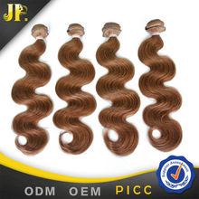 JP hair colour 6 virgin brazilian body wave 100 gram of brazilian hair