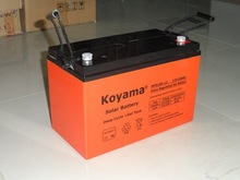12v100ah sealed lead acid battery, UPS battery, rechargeable deep cycle gel solar battery