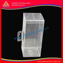 Ruiding supplies Transparent plastic box,soft clear plastic box,die cut iPhone 6 plus case small plastic box