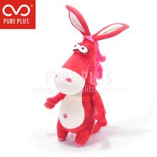 Custom production animal kong dog toy mascot custom plush toy