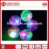 cheap bulk LED flashing light ball toy
