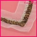 Handgefertigt kragen/perlen trimm für dame dekoration großhandel wnl-1359