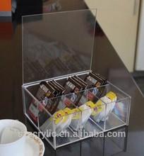 acrylic ceramic tea coffee sugar containers