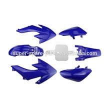 BLUE DIRT BIKE ABS PLASTIC BODY KITS crf 50 parts