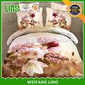 Pintura a óleo de roupas de cama/reativa cama colcha/cama folha tamanho