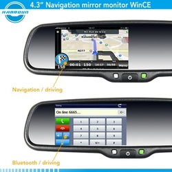 rearview mirror gps wireless camera garmin rearview mirror navigation