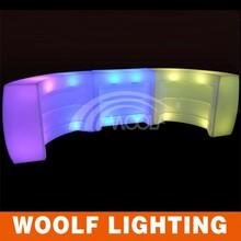 illuminated led restaurant bar counters for sale /restaurant bar counter design