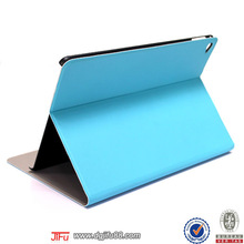 for iPad air 2 case with kickstand function ,flip leather case for iPad air 2