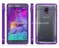 Novo acessório do telefone móvel telefone celular bolsas e malas caso sólido para Samsung nota 4 capa