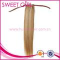منتجات الشعر الماليزية، بيانو لون 27/613 في ذيل حصان