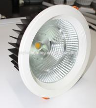 hot sale 6inch cut 180mm led downlight ,cob 28w led donwlight lighting