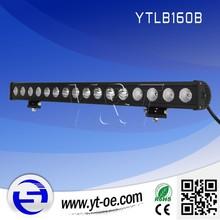 9.5 inch160W LED Work Light Bar 12V 24V SUV Fog Boat 4X4 Driving Lamp Spot Flood Combo