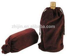 Top grade most popular custom velvet wine bags