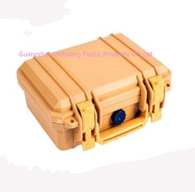 factory price professional waterproof tool case,hard plastic equipment packing case