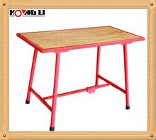 Heavy Duty Work Bench /Wood Work Bench /Folding Steel Frame Wood Work Bench
