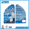 caliente venta de atención al cliente al detergente a prueba de agua etiqueta de la etiqueta