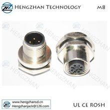 Custom GX20/GX16/M16/M12/M10/M8 Connector Wiring