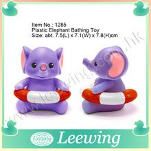 Animal Baby Bath Toy Elephant Lifeguard Baby Bath Toy