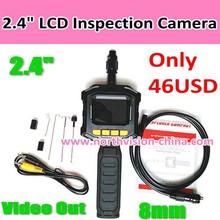 handheld snake scope camera with av out, waterproof IP67, 8mm, factory price USD46