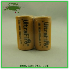 Cheap price!!! High quality UltraFire 18350 1200mAh Rechargeable Battery 3.7V w mod