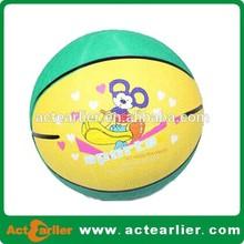cheap mini rubber basketball