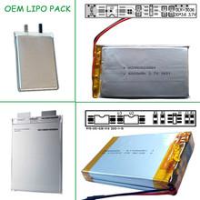 wholesale cheap price 3.7v 1000mah lipo battery for mp3 mp4